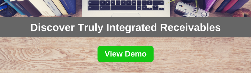 Truly Integrated Receivables | Demo CTA Banner