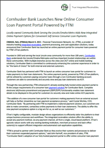 Cornhusker Bank PR TN