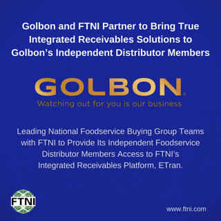 FTNI and Golbon Announce Integrated Receivables Partnership | Image