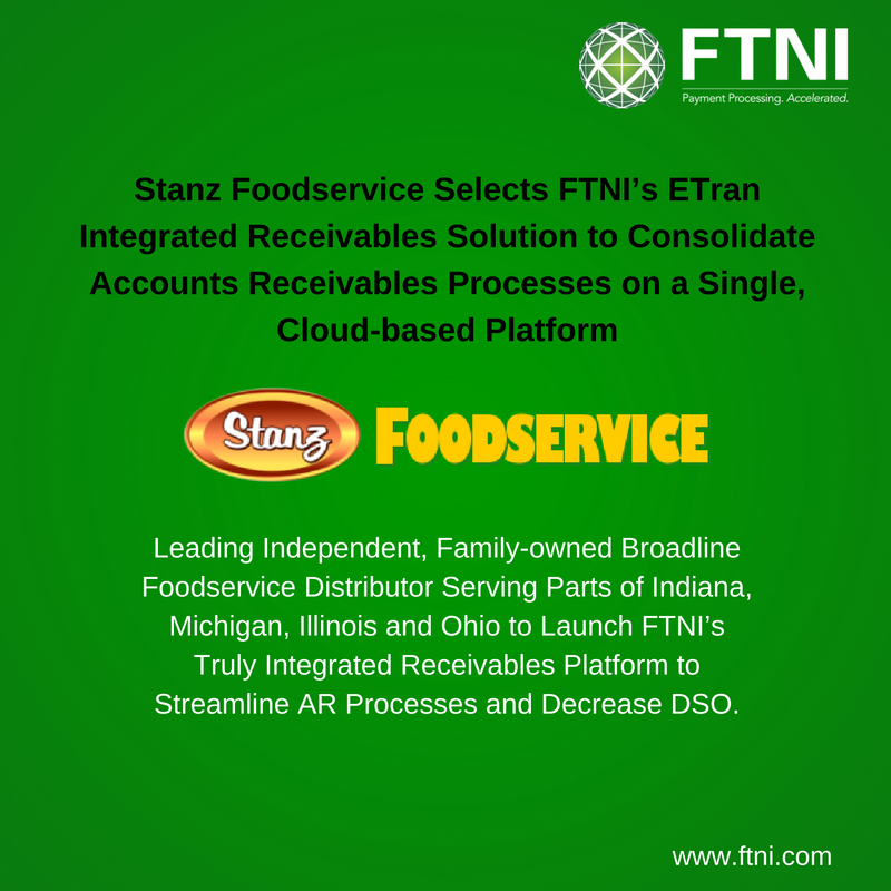 Stanz Foodservice Selects Ftni S Etran Integrated