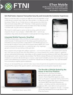 Mobile Payments - Mobile RDC   FTNI