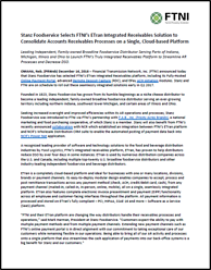 Image | FTNI & Stanz Foodservice Integrated Receivables Press Release
