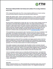 FTNI and Physicians Mutual Lockbox Processing Press Release PDF Image