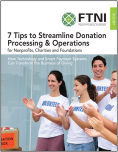 Nonprofit Donation Processing eBook | FTNI