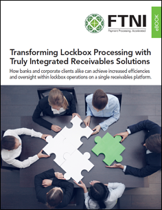 Lockbox Processing and Integrated Receivables eBook Image | FTNI