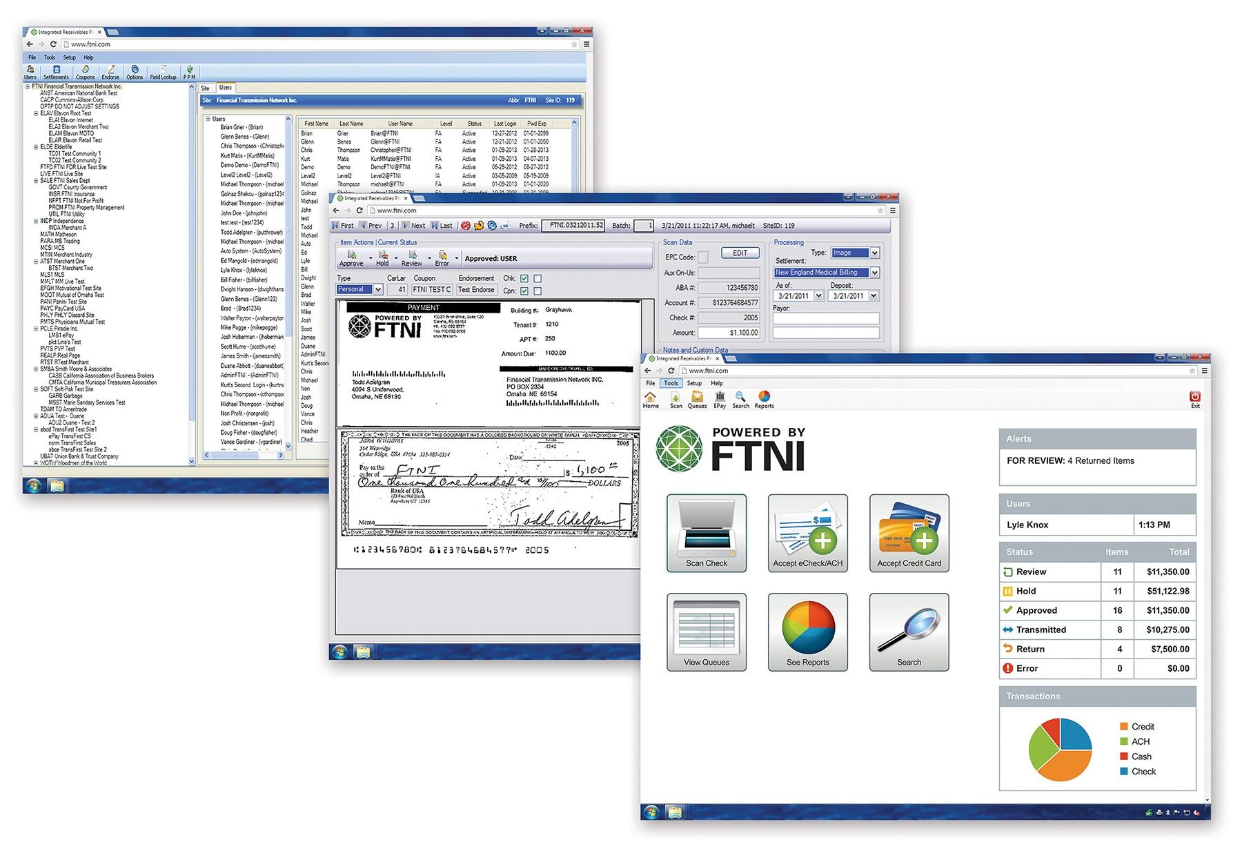 ETran Integrated Receivables Hub Interfaces | FTNI