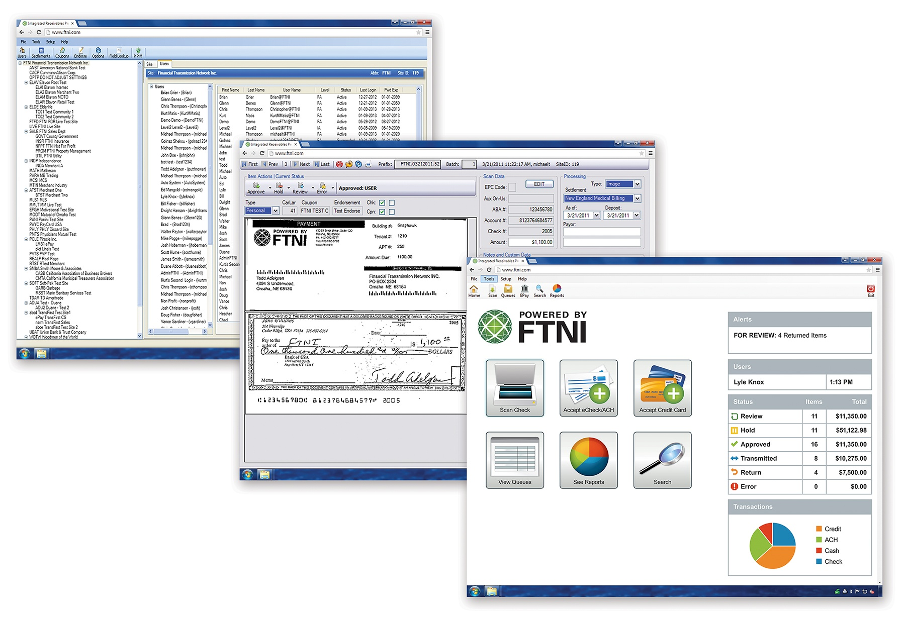 ETran Integrated Receivables Hub Interfaces | FTNI
